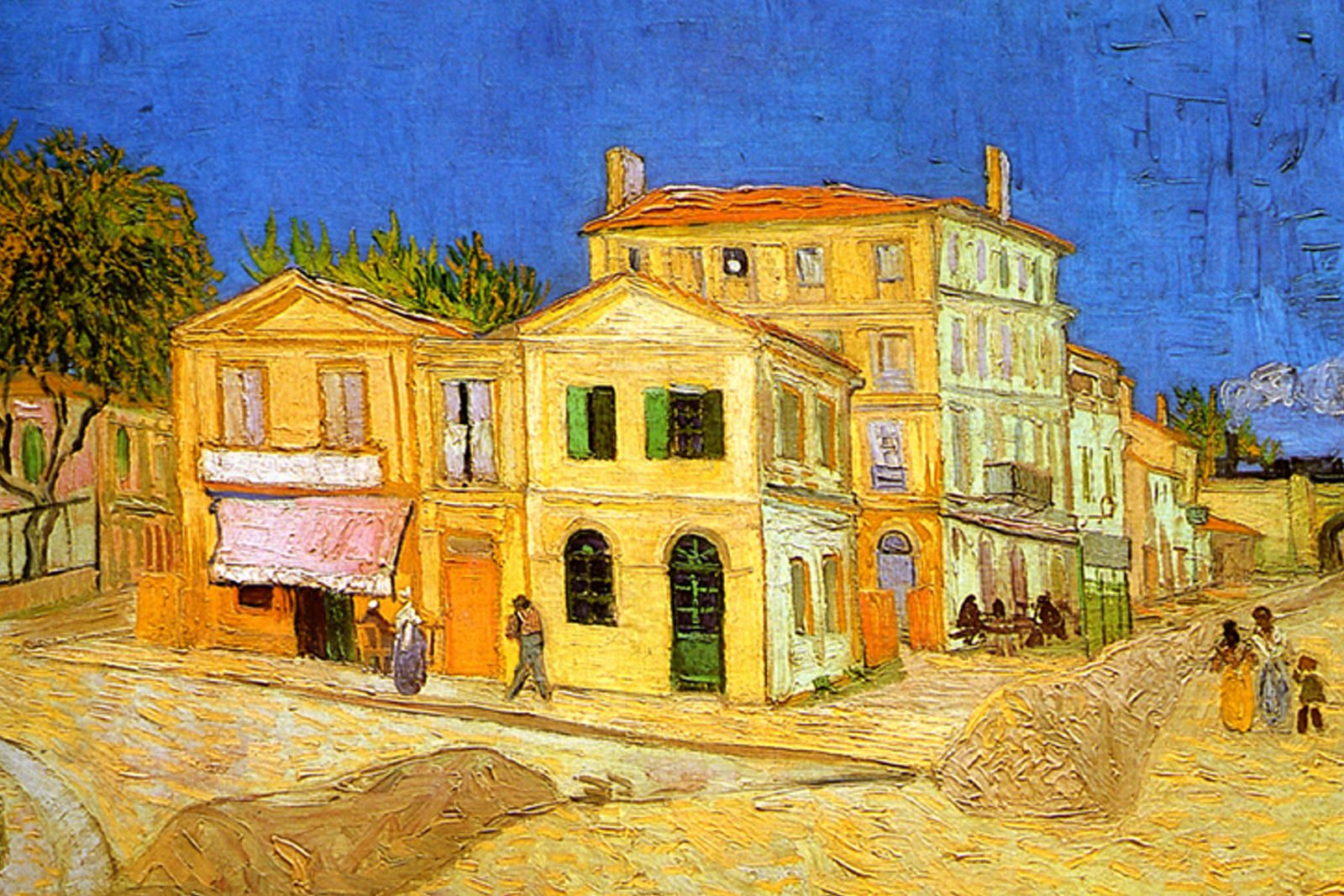 Vincent van Gogh's 'Yellow House' - painted