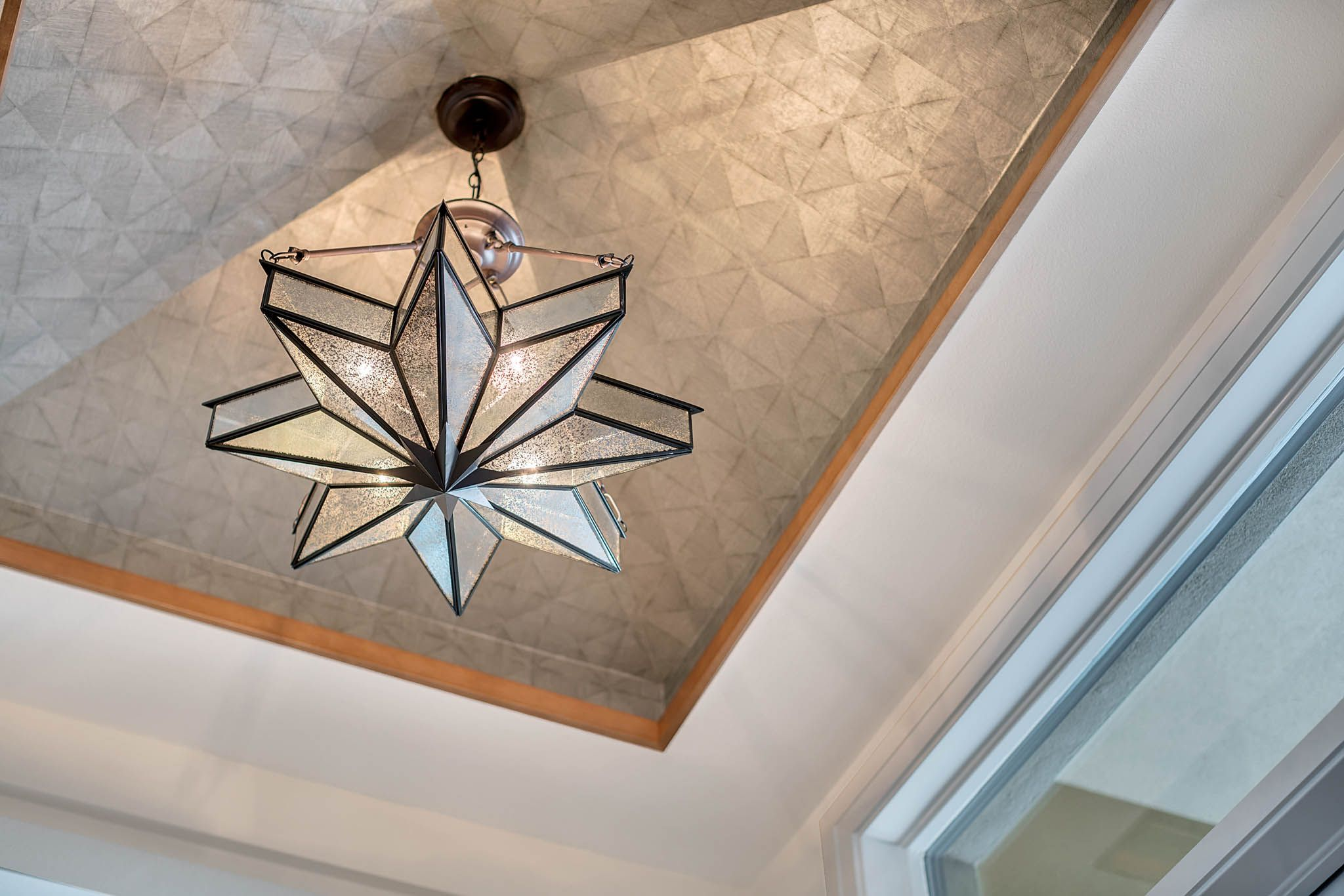 This Crystal Chandelier Is Perfect For Overhead Yet Sophisticated