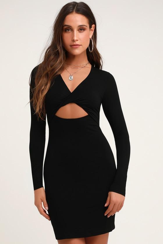 39++ Long sleeve cut out dress ideas in 2021