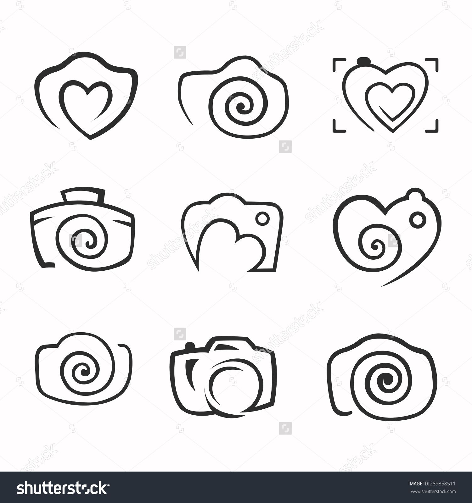 camera logo Αναζήτηση Google … Tatuaje de cámara