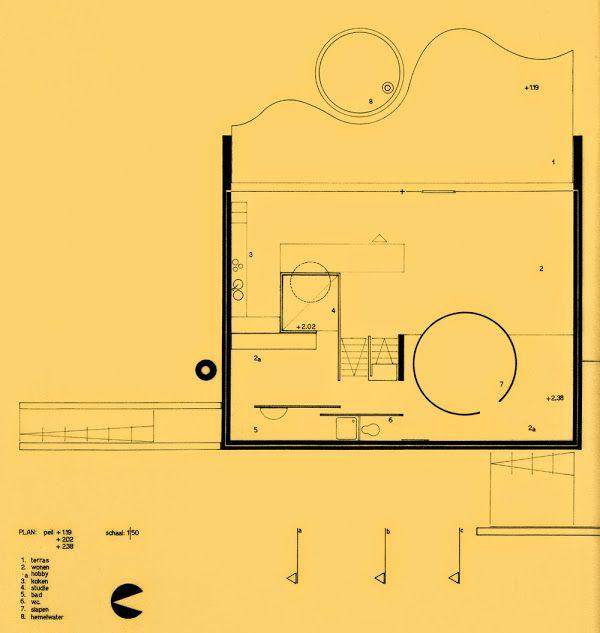 As-tu déjà oublié ? 50s,60s,70s Architecture Vans, Drawings and - plan architecturale de maison
