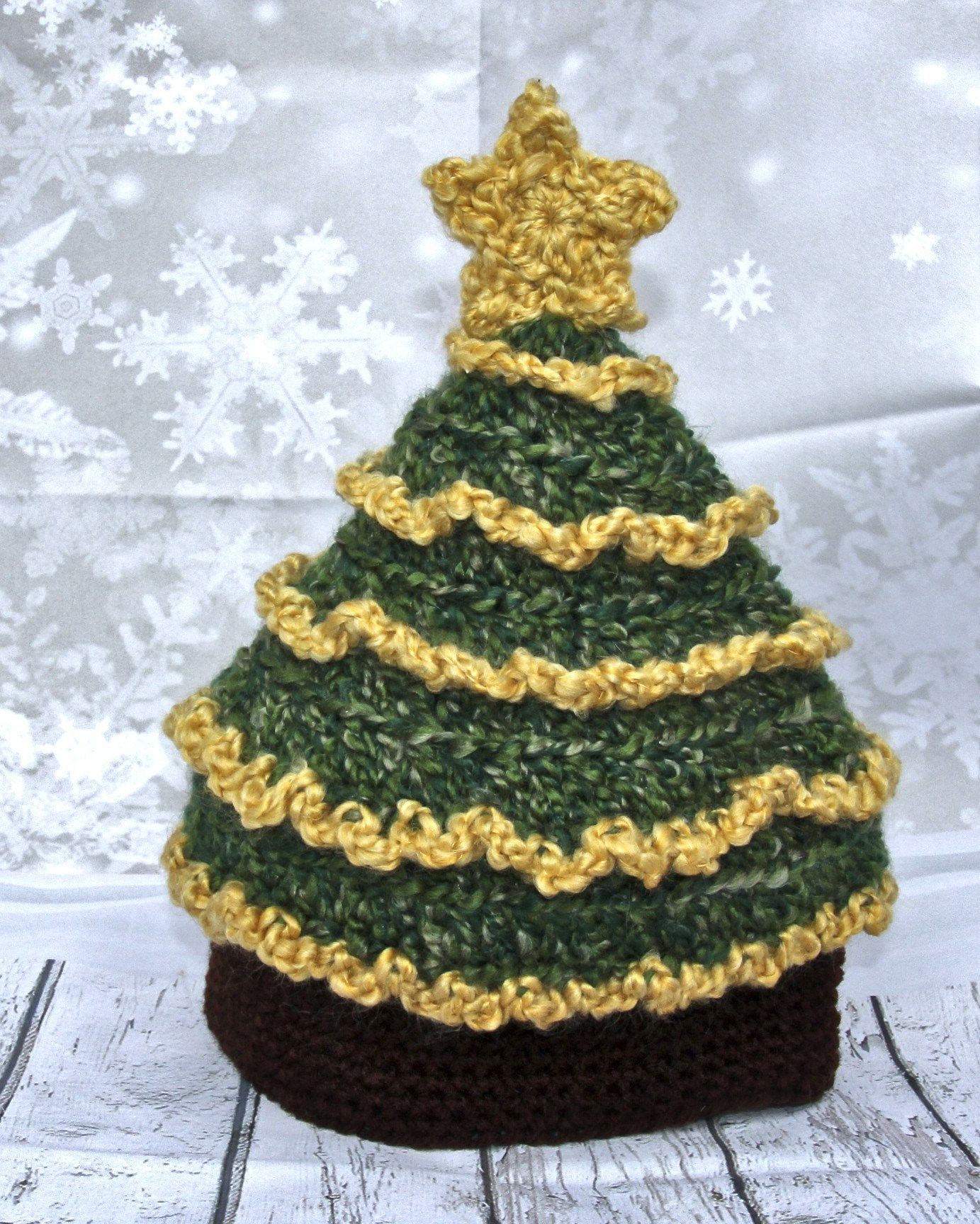 Light Me Up Christmas Tree Hat Free Crochet Pattern Crochet Christmas Hats Christmas Tree Hat Crochet Christmas Trees Pattern