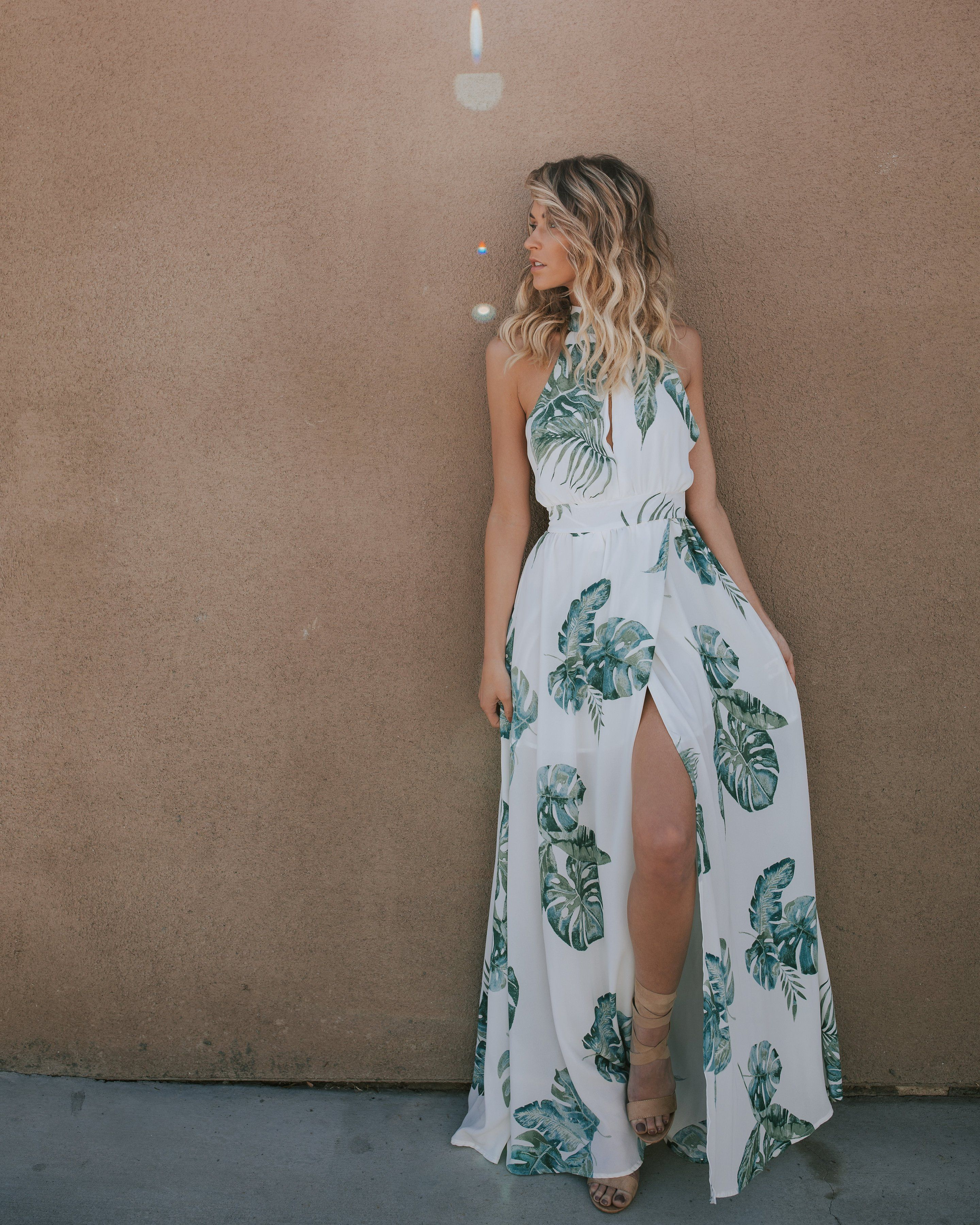 Pin By Siena Smith On Dresses Semi Formal Maxi Dress Dresses Tropical Outfit [ 3600 x 2880 Pixel ]