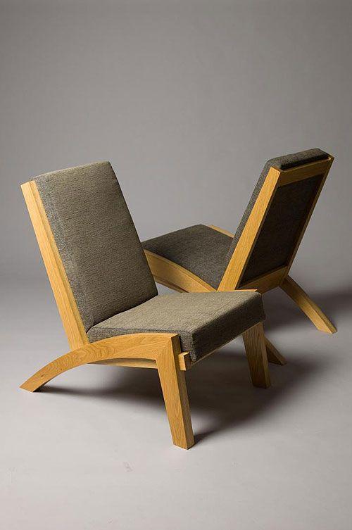 Thorkild Hansen Reading Chair Oak And Upholstery Furniture Design Chair Wooden Sofa Designs Scandinavian Furniture Design