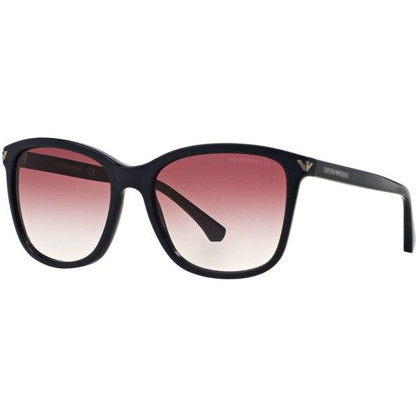 Emporio Armani Sunglasses, Emporio EA4060 56 (545 SAR) ❤ liked on Polyvore featuring accessories, eyewear, sunglasses, emporio armani glasses, emporio armani sunglasses, emporio armani and emporio armani eyewear