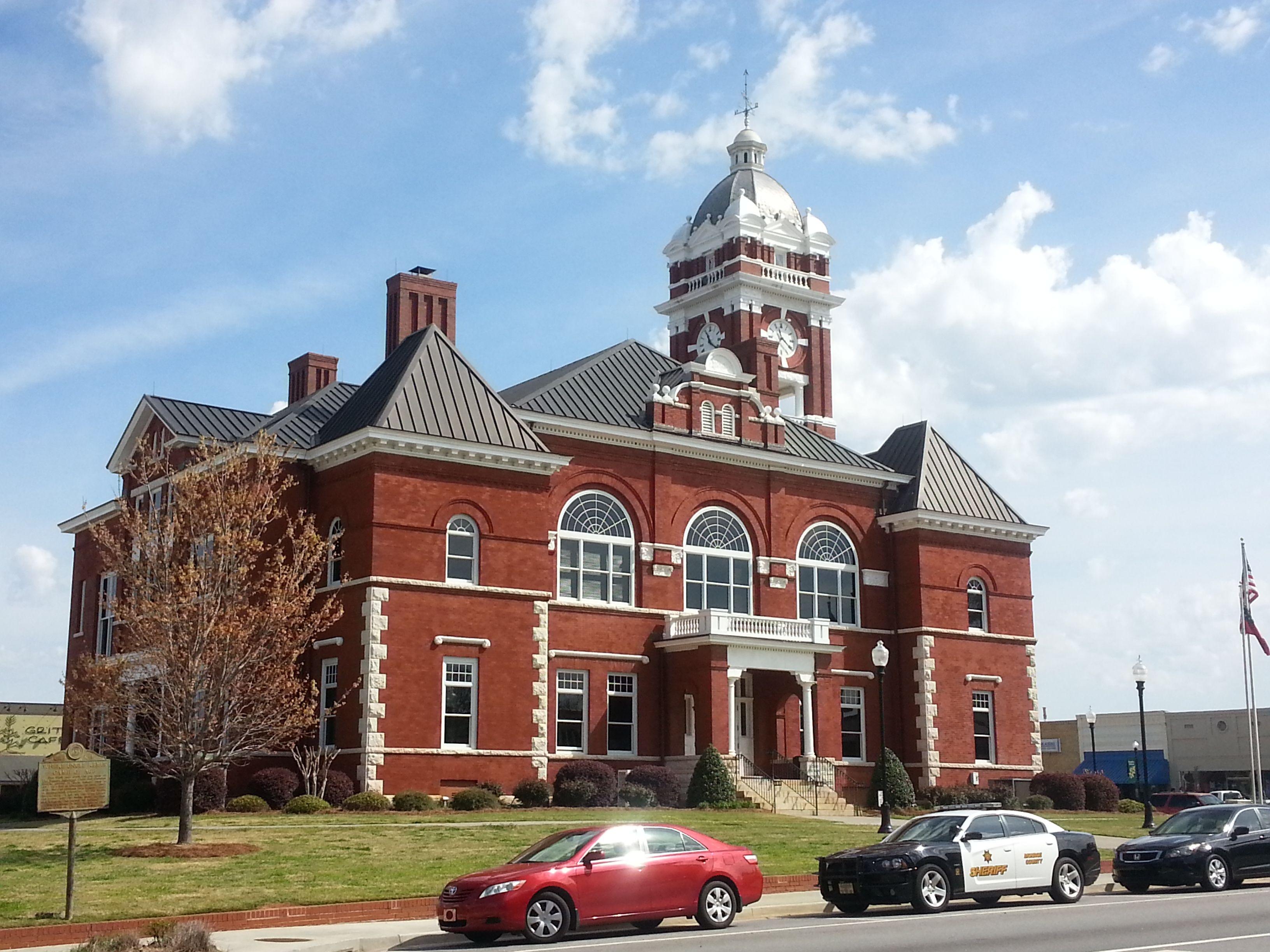 Lamar County courthouse, Barnesville, GA | Architecture ...