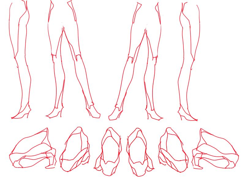 Pin by Siobhan || Art References on Art Inspo: Thighs and