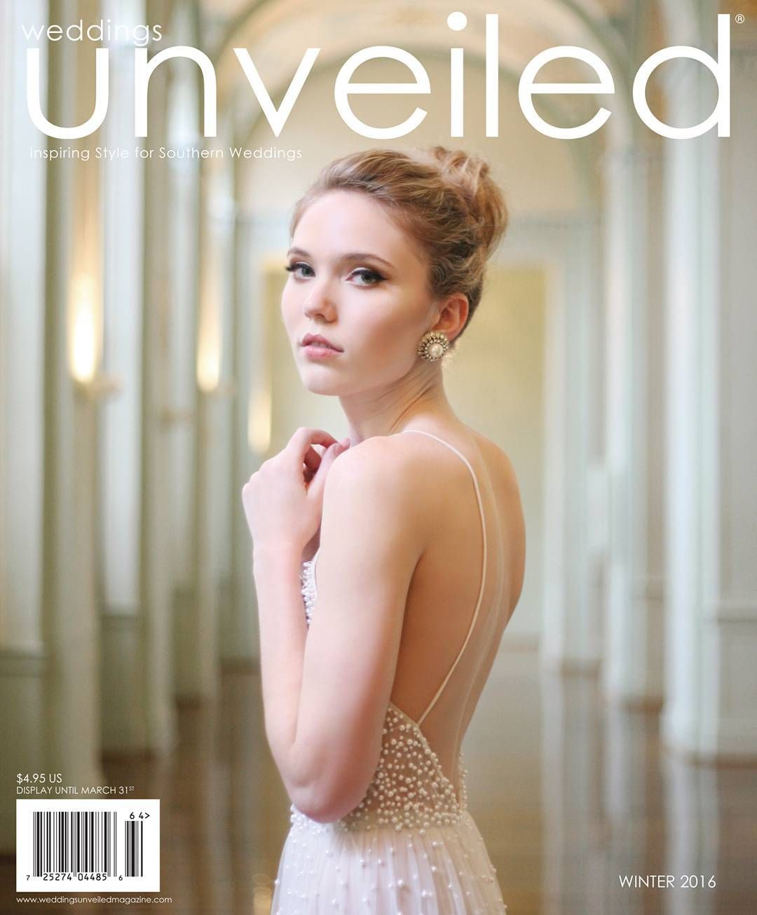 The Winter 2016 Issue Cover Of Weddings Unveiled