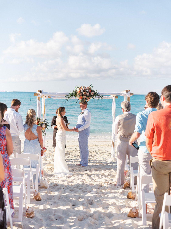 Turks And Caicos Destination Wedding Anna Frank In 2020 Destination Wedding Outdoor Beach Wedding Wedding Beach Ceremony