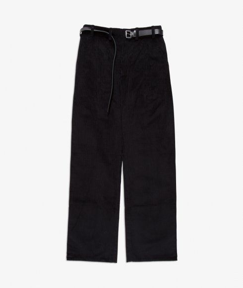 Corduroy pants with belt from AF AGGER. Made in Europe and crafted from a pure…
