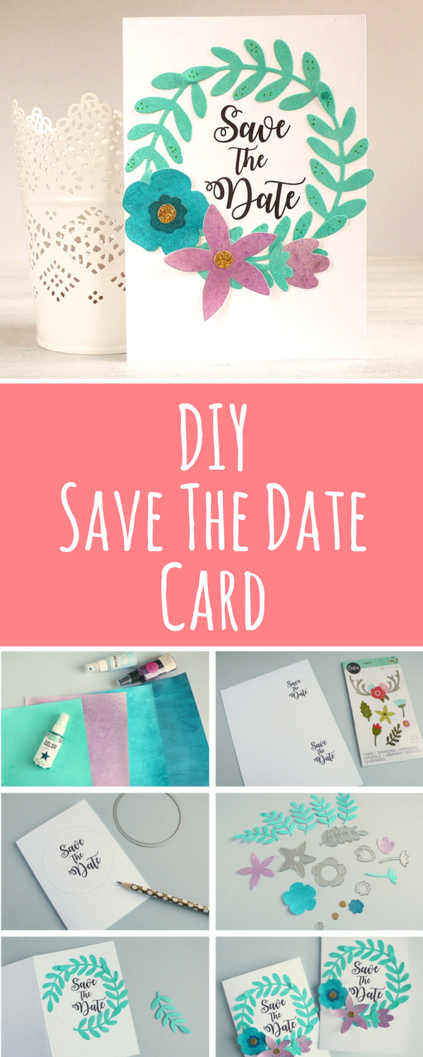 Learn How To Make This Simple Adorable Diy Save The Date Wedding