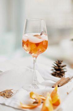 Recipe: Weihnachtlicher Spritz #nonalcoholicbeverages
