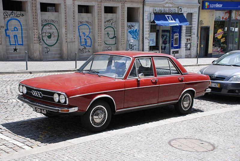 1972 Audi 100ls Audi 100 Audi