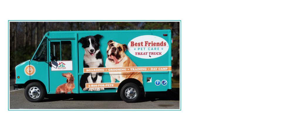 Treat Truck Great Advertising Best Friends Pets Pet Care Pet Boarding