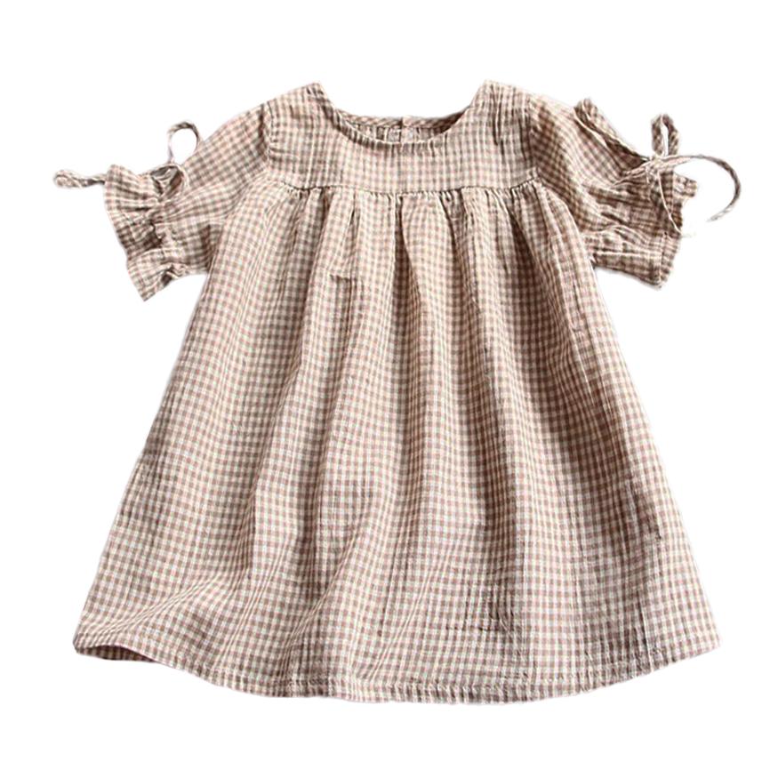 155d7823c Gingham Peasant Mini Dress
