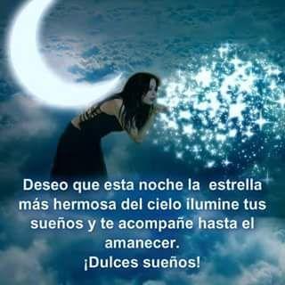 Dulces Sueños Buenas Noches Frases De Noche Y Deseos
