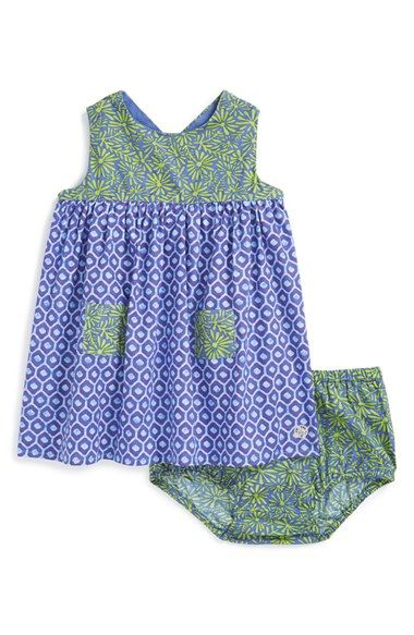 Margherita Sleeveless Cotton Shift Dress (Baby Girls) available at #Nordstrom