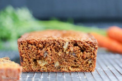 Paleo Carrot Bread