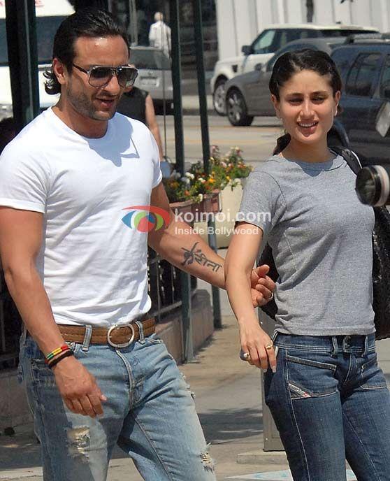 Saif Ali Khan Tattoo For His Love His Wife Kareena Actors With Tattoos Bollywood Bollywood Actors