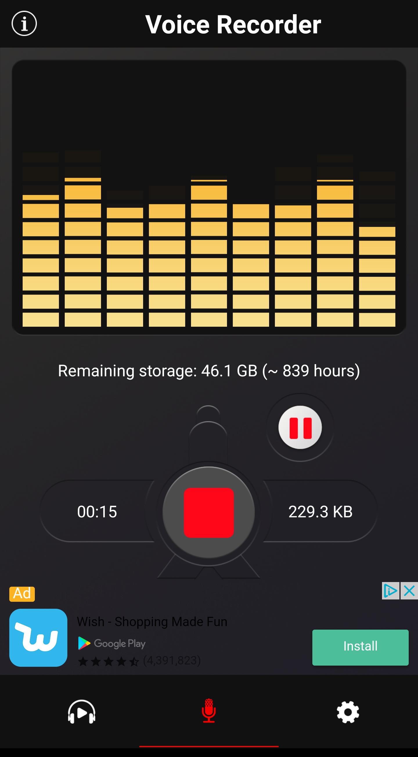 Quick Voice Memo Android