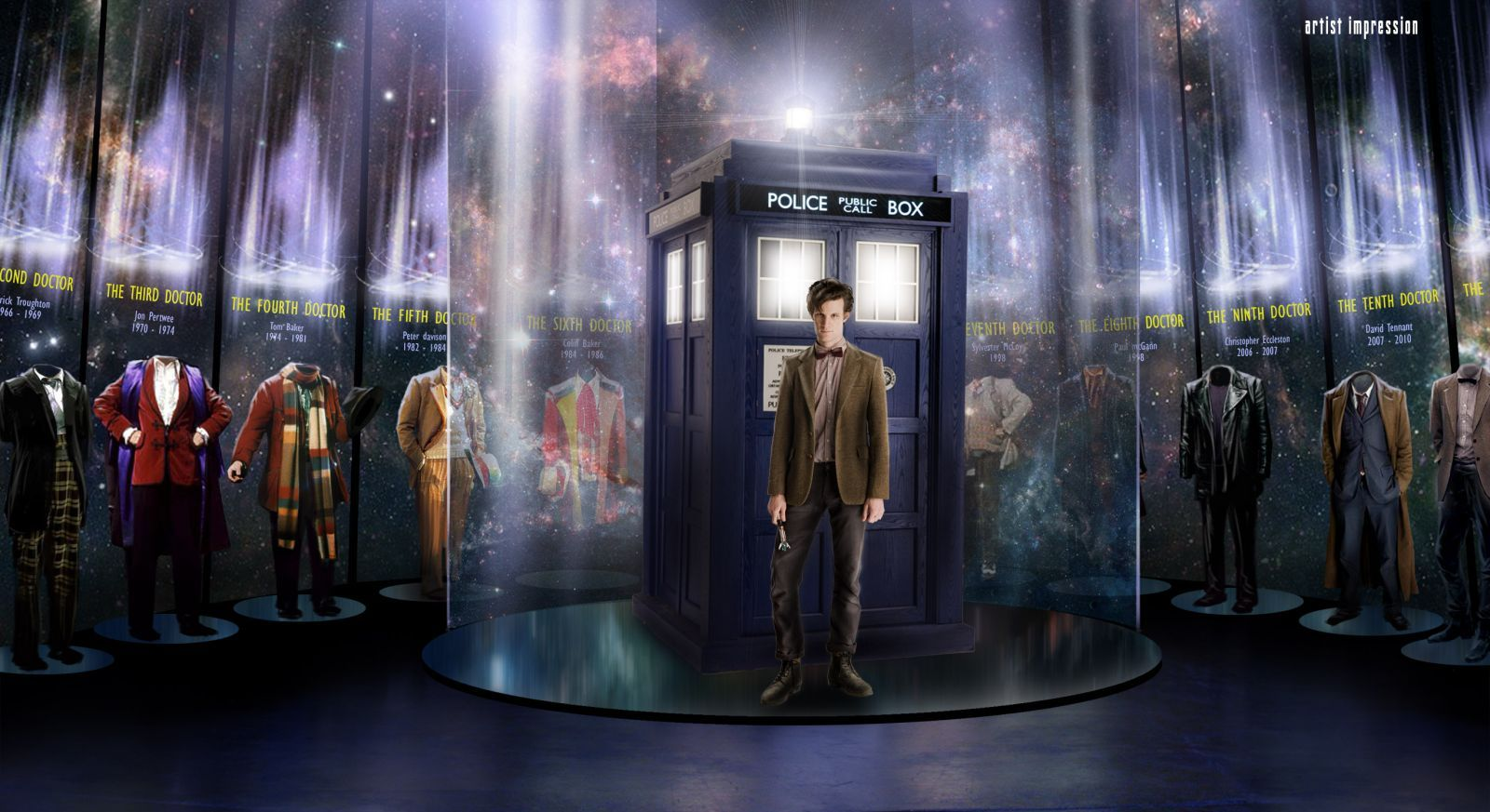 dr who tardis wallpaper | hd desktop wallpaper - tardis matt smith