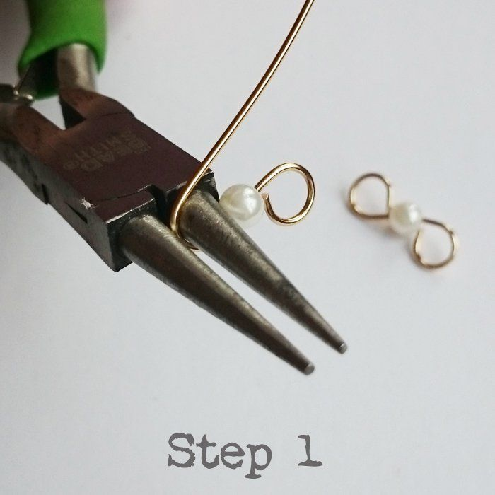 Photo of Introduction to Wirework – Easy DIY Wire Earrings   Golden Age Beads