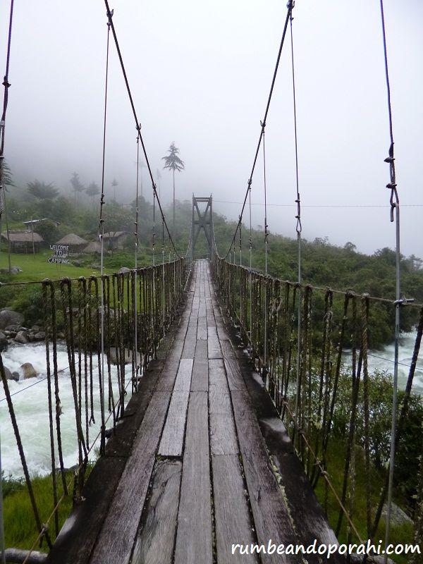 """""""Puentes"""" Camino del Choro, Bolivia - Rumbenado por Ahí"""