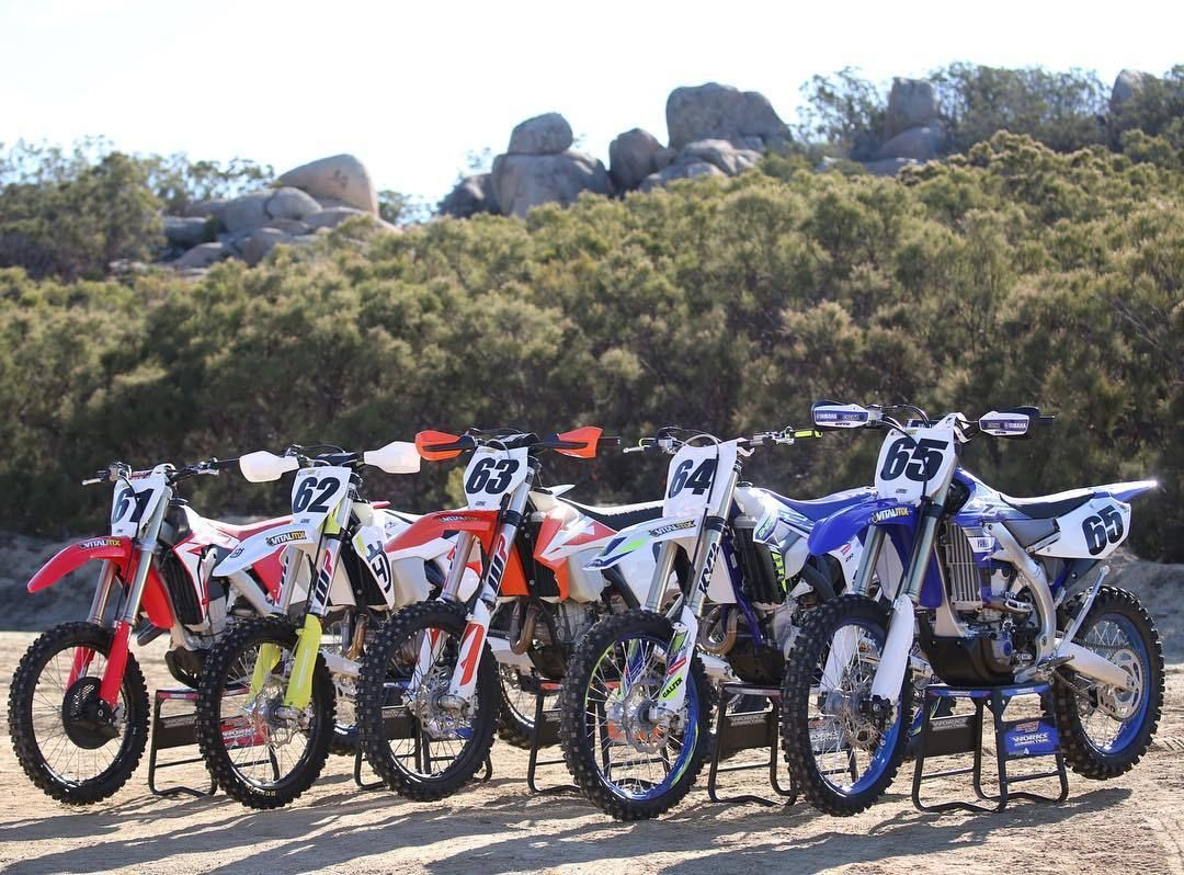 Here Are Your Players For The Vitalmx Off Road Shootout