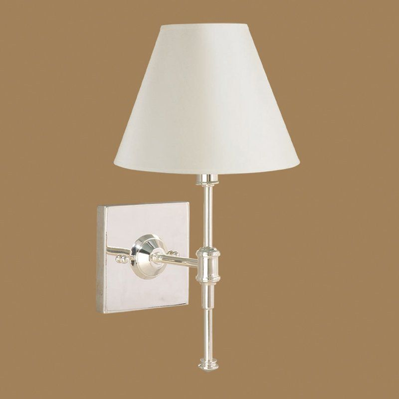 Laura Ashley Sfe407 Wst440 State Street Wall Sconce Shiny Silver Lighting Universe