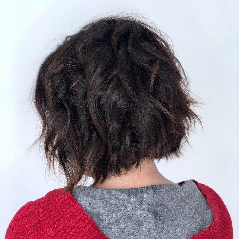 Coupe de cheveux mi court femme 2017 - Style de Cheveux