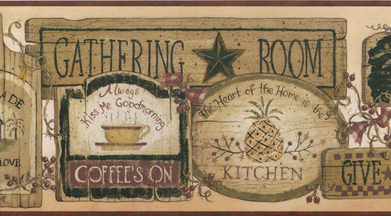 country kitchen border