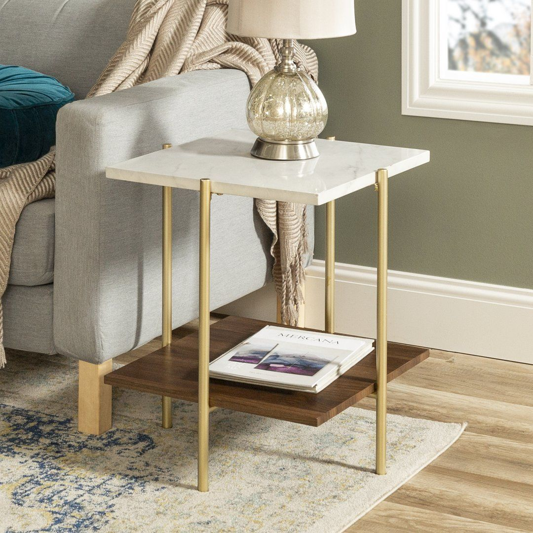 Simone Square Side Table In 2020 Side Table Decor Living Room Living Room Side Table Gold Living Room Decor #round #side #table #for #living #room