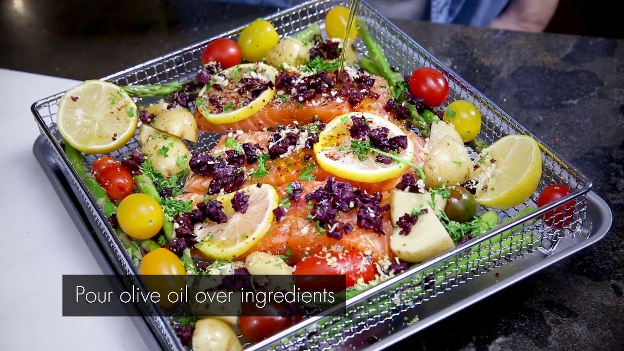 Cuisinart Air Fryer Toaster Oven Salmon Recipe Salmon Recipes Salmon Recipes Oven Air Fryer Recipes Salmon