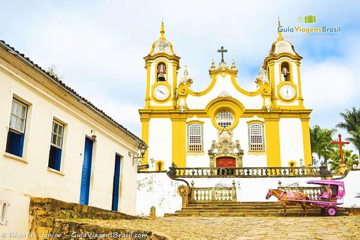 Igreja Matriz De Santo Antonio Tiradentes Minas Gerais Com