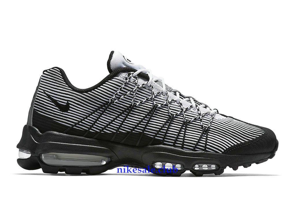 Nike Sale Chaussures Nike Air Max 95 Ultra Jacquard Prix Femme Pas Cher  Noir/Blanc