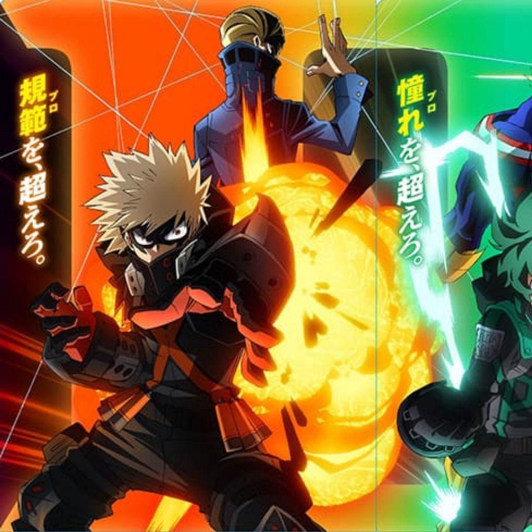 Myheroacademia The Movie World Heroes Mission In 2021 Hero World Anime Anime Fight