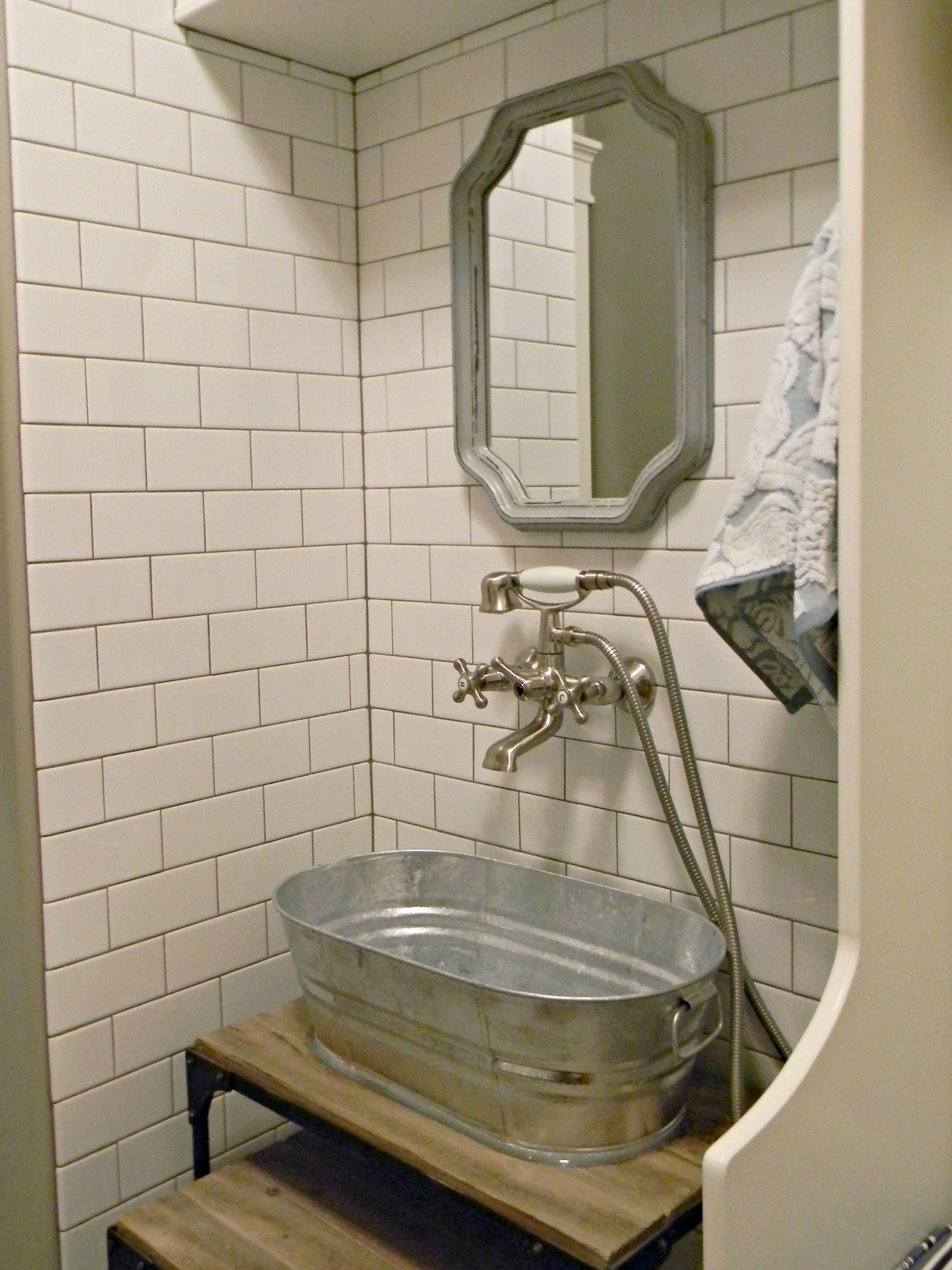 Diy Blogger House At Daybreak Dog Bath Tub Dog Washing Station