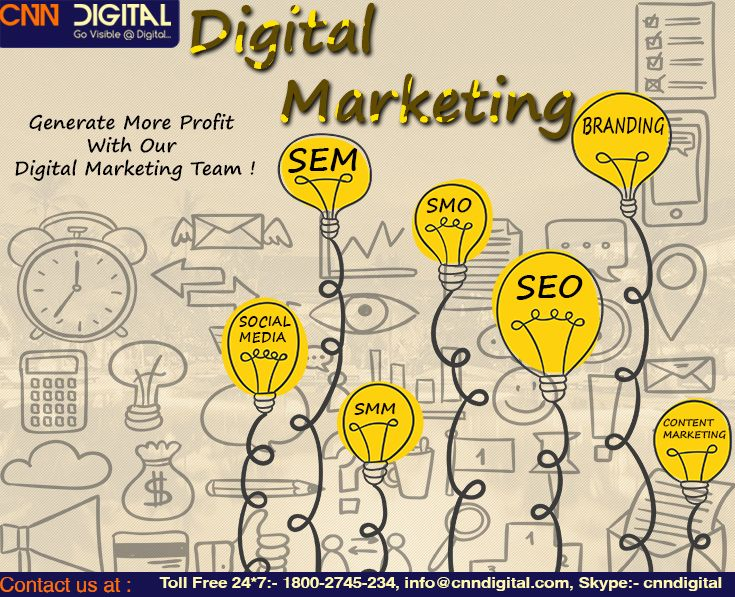 Generate more profit with our digital marketing team.