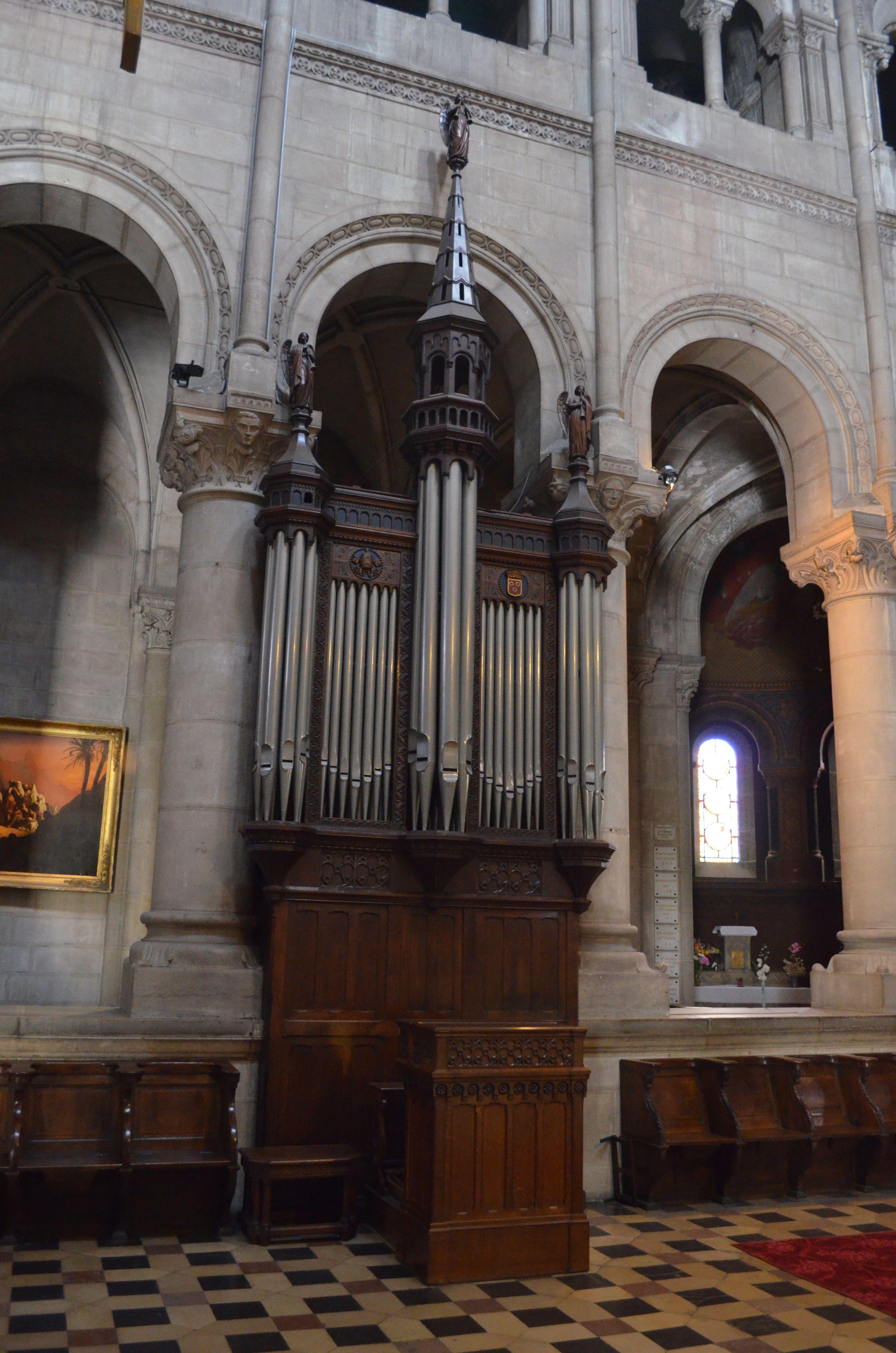 eglise saint-pierre - mâcon (f-71) orgue de choeur | pipe organs