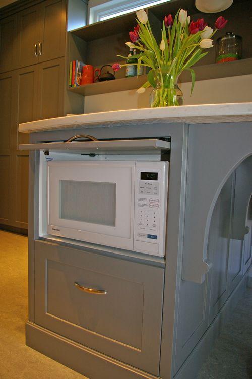 25+ best ideas about Hidden microwave on Pinterest | Kitchen ... Ideas For Kitchen Hidden Microwave on kitchen hidden sink, kitchen hidden storage, kitchen hidden pantry,