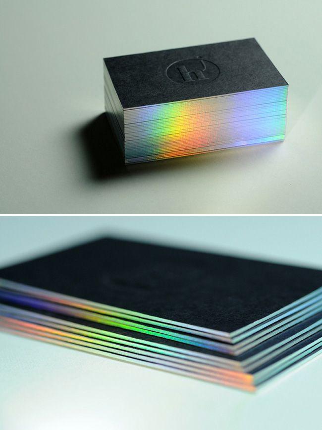 Holographic Foil Business Cards Foil Business Cards Holographic Foil Foil Stamped Business Cards