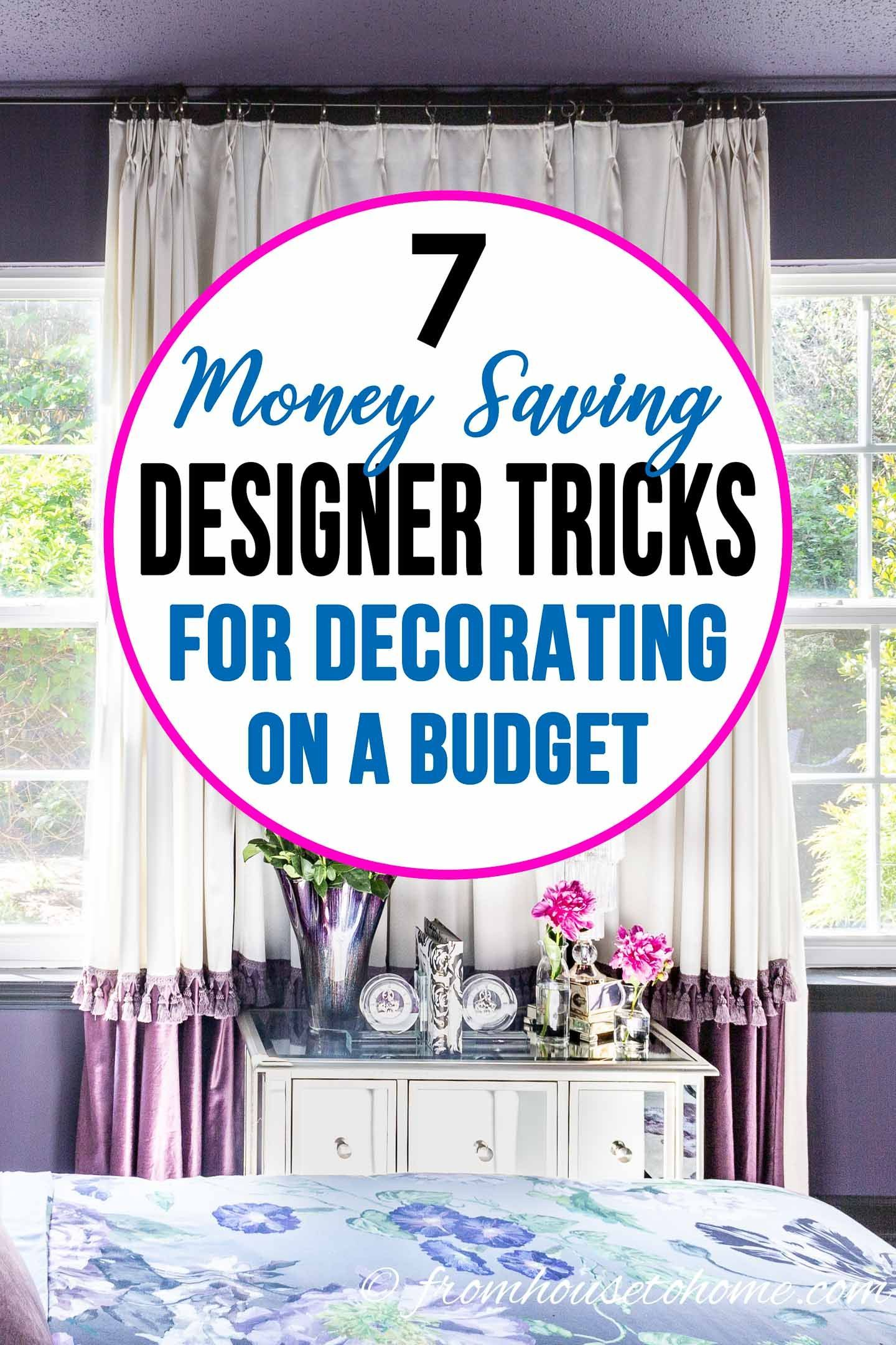 How To Decorate Your Home On A Budget Decorating On A Budget