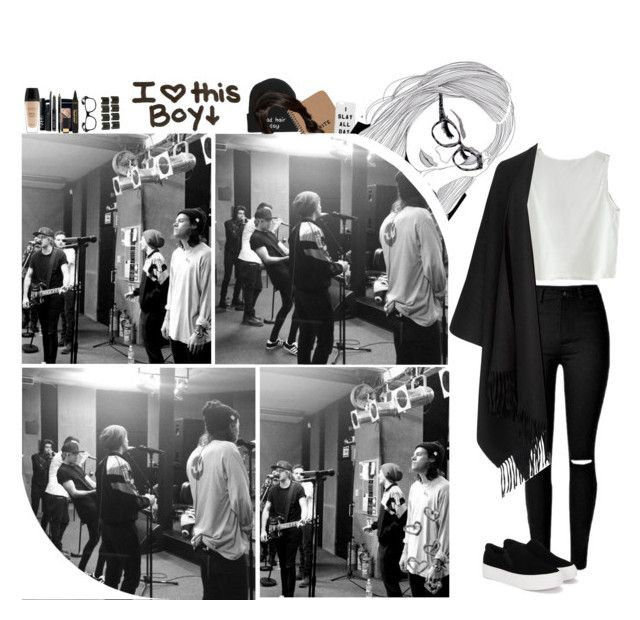 """""""Watching the boys train before their concert"""" by dreamofjess ❤ liked on Polyvore featuring Christian Dior, 8 Other Reasons, L'Oréal Paris, NARS Cosmetics, Guerlain, Bobbi Brown Cosmetics and Acne Studios"""