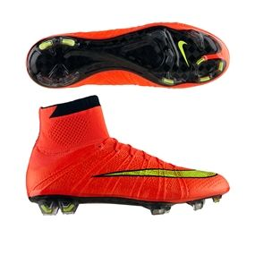 online retailer 8be03 9ee69  274.99- Nike Soccer Cleats  FREE SHIPPING  641858-670   Nike Mercurial  SuperFly IV Soccer Cleats (Hyper Punch Gold Black)   soccercorner.