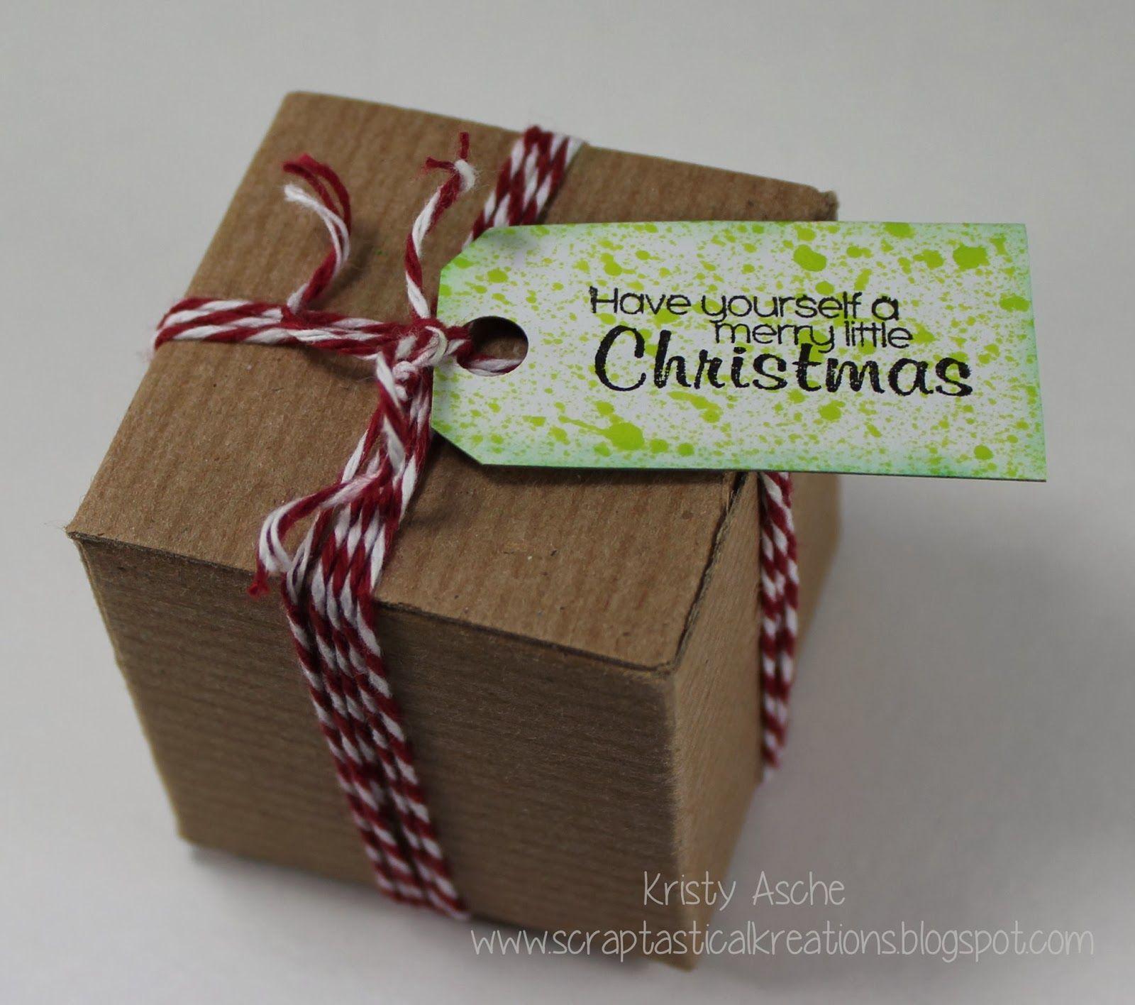 Bella Creations gift box Kristy Asche Scraptastical Kreations