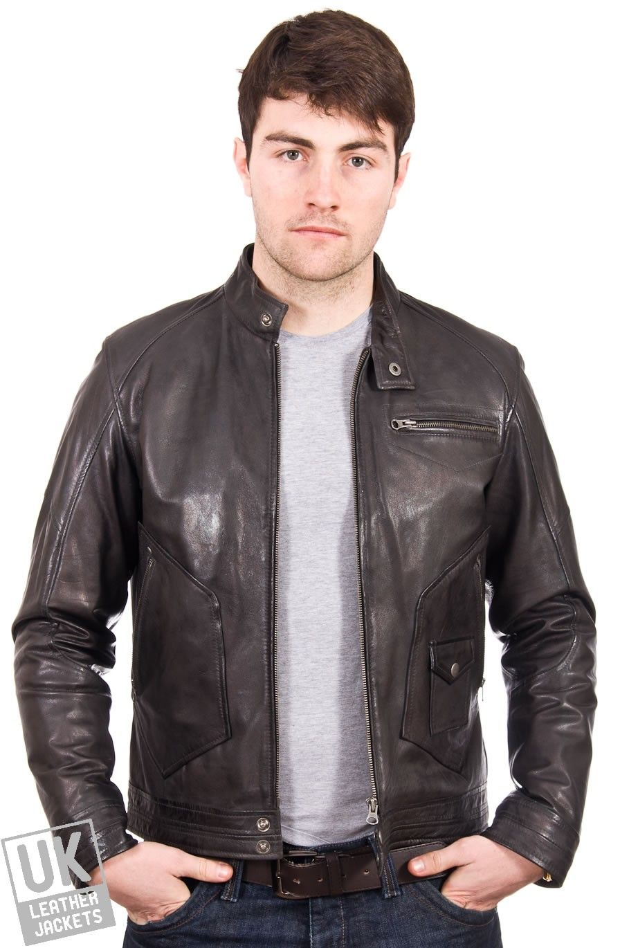 Wholesale leather jackets for men