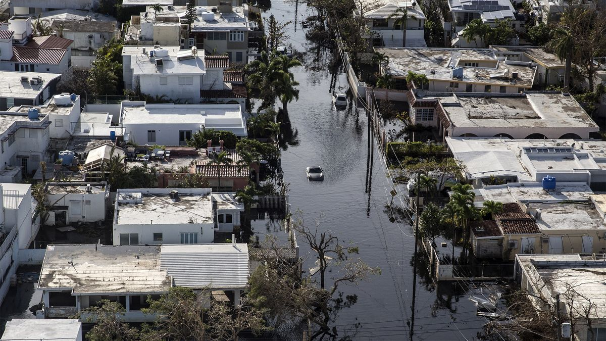 Hurricanes And Cyclones Puerto Rico Flood Insurance Climate Change