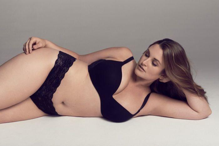 Emily Nolan Models Cosabella's New Plus Size Lingerie ...