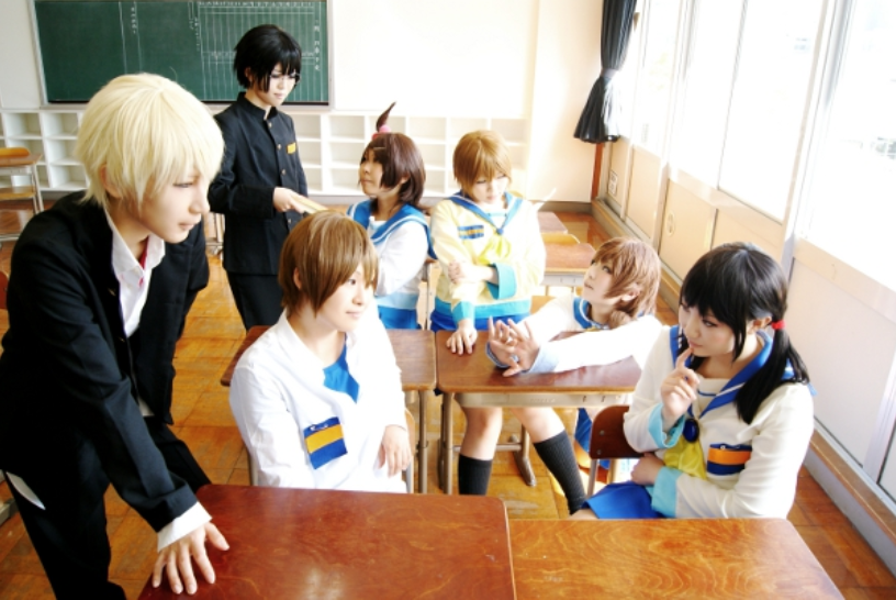 Corpse Party Cosplay. I can die happy! cx