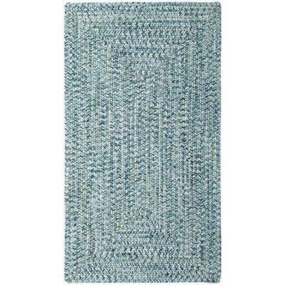 Capel Sea Pottery Blue Variegated Outdoor Area Rug Rug Size: